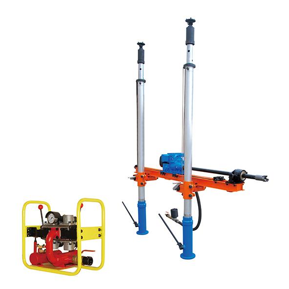 ZQJC双立柱气动架柱式钻机-带操作台